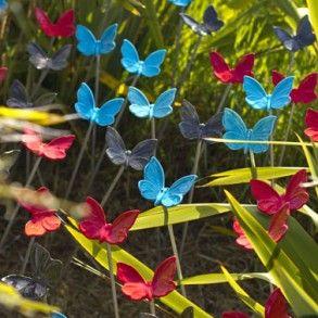 Trish Dickinson – Flight of Butterflies (photo: Vanessa Green) - Harbourview Sculpture Trail 2012