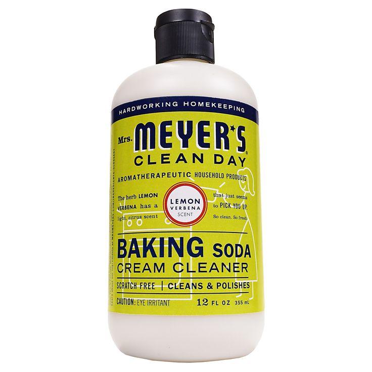 Mrs. Meyer's Lemon Verbena Baking Soda Cream Cleaner - 12oz