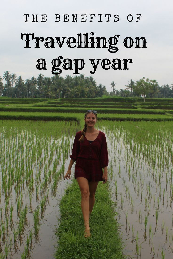 the benefits of a gap year A gap year is a year spent taking time off between life stages an increasingly popular option, it provides time for traveling, volunteering, learning a new language, or experiencing any number of other activities for personal growth.
