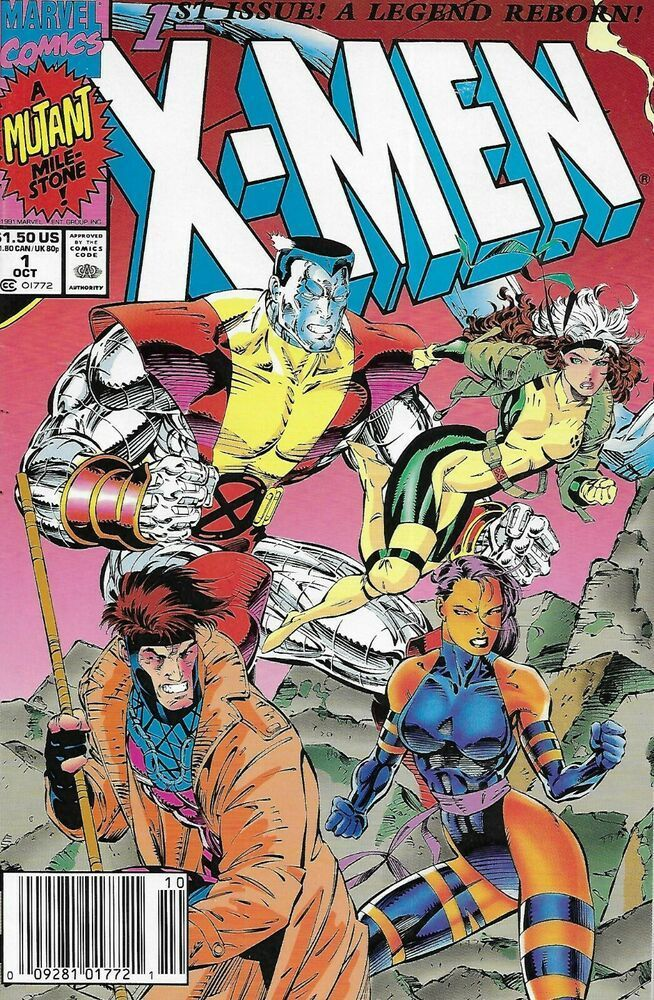 X Men Comic Issue 1 Copper Age First Print 1991 Chris Claremont Jim Lee Williams Comiccovers Marveldccomic In 2020 Marvel Comic Books Marvel Comics Covers Jim Lee Art