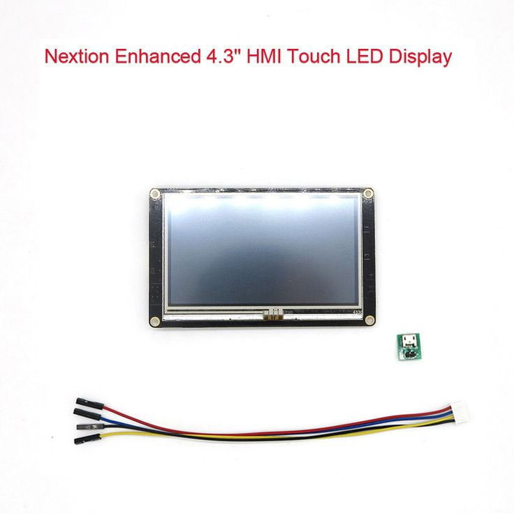 DIYmall Nextion Enhanced 4.3 inch LED LCD Display TFT Module https://www.aliexpress.com/store/product/Nextion-Enhanced-4-3-HMI-Touch-Display-for-Arduino-Raspberry-Pi/406986_32707469607.html