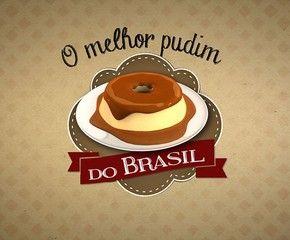 Logo Melhor Pudim do Brasil (Foto: TV Globo)