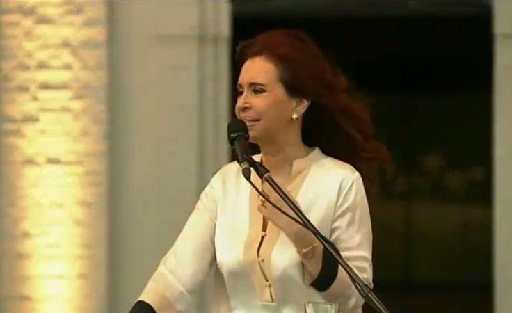 Cristina en la ex ESMA en otro acto con gusto a despedida | La transición, Cristina Kirchner