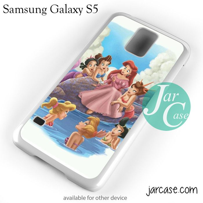 Ariel And Her Friends Phone case for samsung galaxy S3/S4/S5