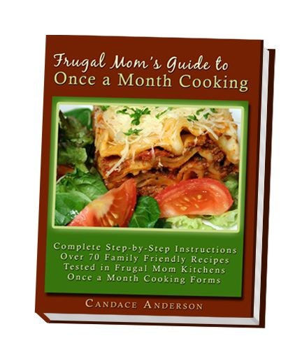 Once a month cooking for moms. No daily cooking tension.: Homemade Frozen, Frugal Mom, Dinners Recipes, Menu Plans, Frozen Dinners, Freezers Meals, Mom Guide, Cooking Lots, Cooking Recipes
