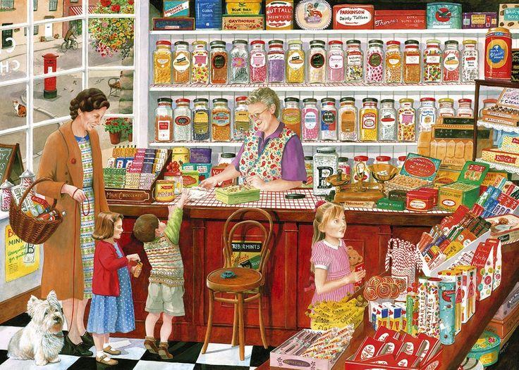 Puzzle 1000 pièces La confiserie de Betty: Amazon.fr: Jeux et Jouets