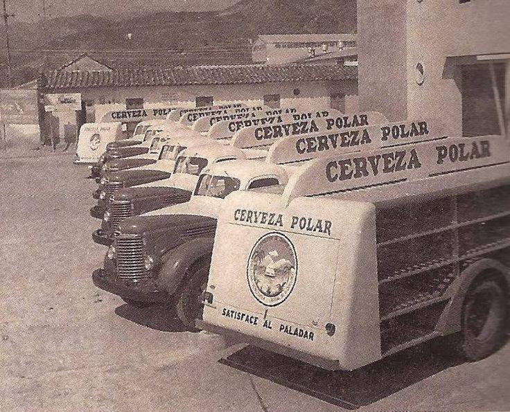 Camiones  De cervezas Polar Venezuela