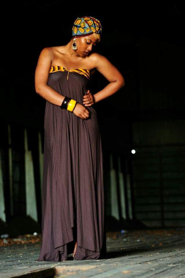 Ka'Yanda exclusive - with Shweshwe print contrast