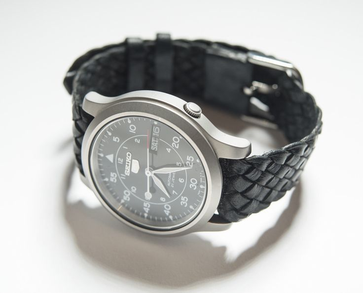 A personal favourite from my Etsy shop https://www.etsy.com/au/listing/466424575/18mm-black-kangaroo-leather-watch-strap