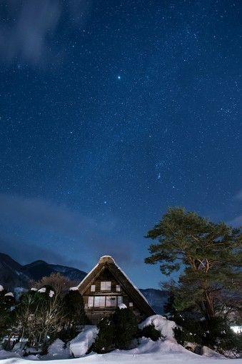 空気が澄んでいる冬は星がこんなにきれい!