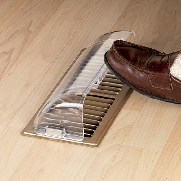Beautiful I Need A Few Of These For Unfortunate Vent Placements. Floor Vent Deflector    Zoom