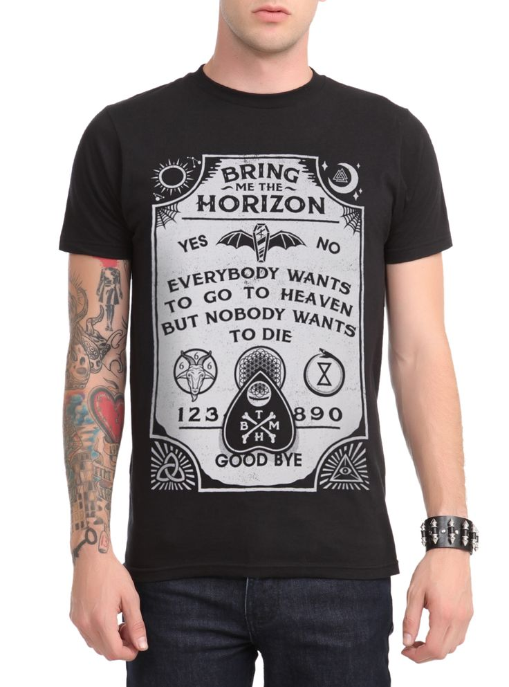 Bring Me The Horizon Shirt Hot Topic Bring Me The Horizon O...