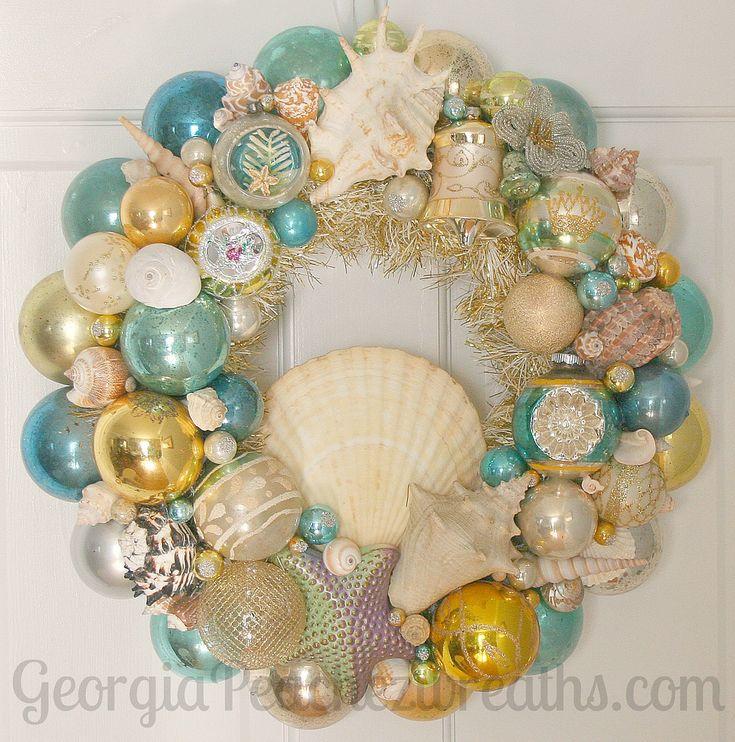 Vintage Ornament Wreath | Flickr - Photo Sharing!