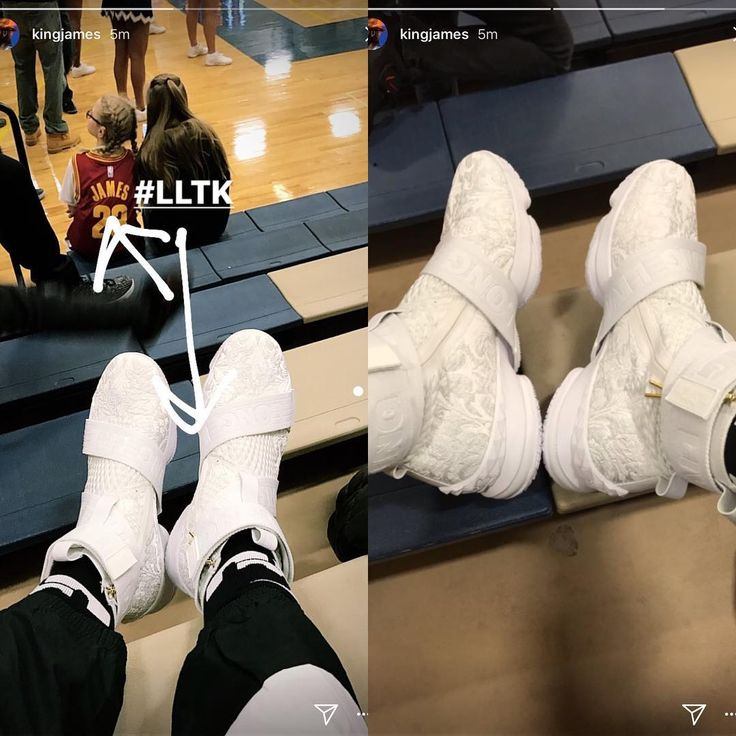"8,188 Me gusta, 83 comentarios - Cavs On Court (@cavsoncourt) en Instagram: ""Long Live The King 👑 @kingjames showing off a fresh new #lebron15 via his IG story"""
