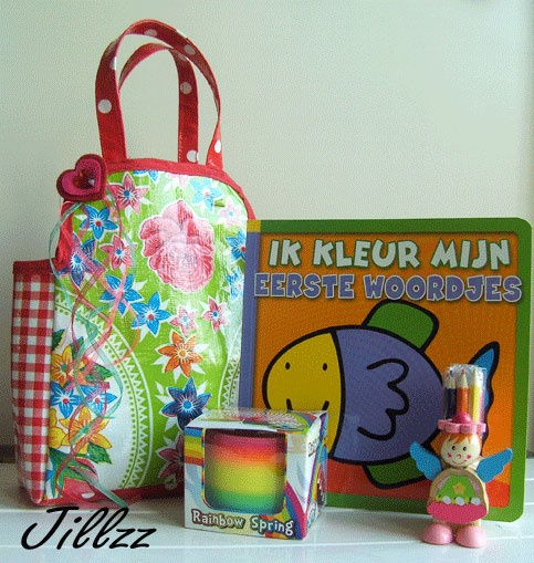 All in one bag..for the first schoolday !