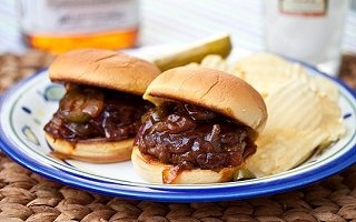 Spicy Whiskey BBQ Sliders - inspiration for a pulled pork recipe