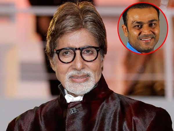 Amitabh Bachchan & Virender Sehwag indulge in a fun Twitter chat over Olympics and Shobha De