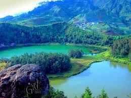 Tour the Telaga Warna Dieng at an altitude of 2000 metres | Gadogadoilmu