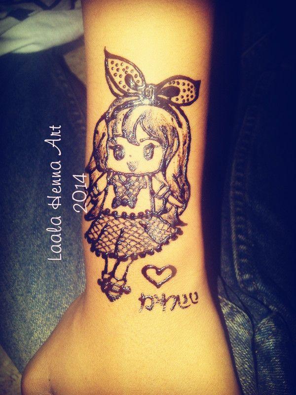 <3 <3 <3 manga henna design #laalahennaart