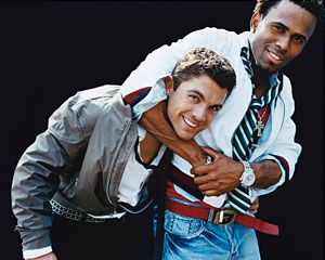 david wright and jose reyes...who cares if they're not teammates anymore...they're adorable :)