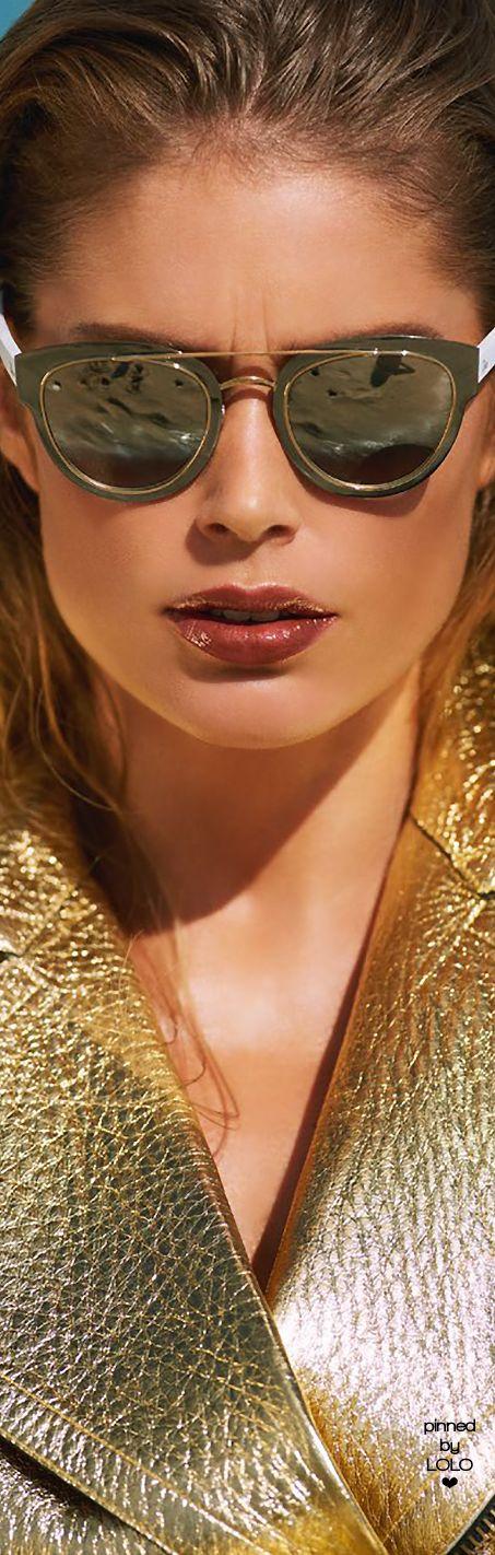 Doutzen Kroes by Gilles Bensimon for Vogue Paris June/July 2015 | LOLO❤