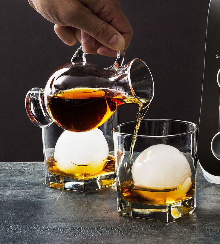 Jumbo Ice Ball Tray by The Original Whiskey Ball on Scoutmob. Love this!