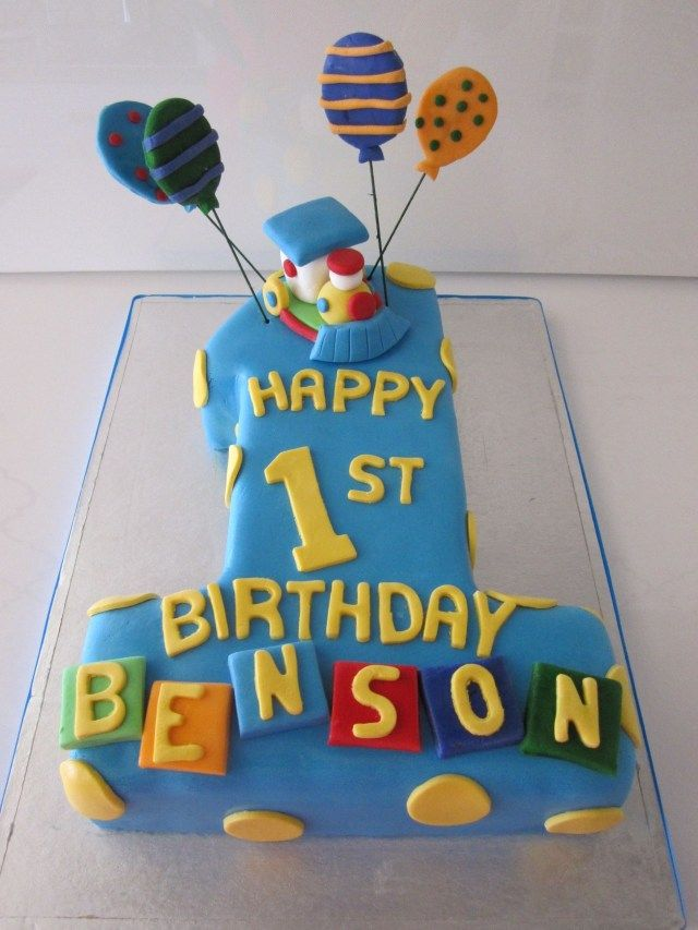 24 Exclusive Image Of 1st Year Birthday Cake Design With Images