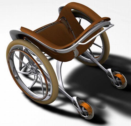 Sidewinder is the Harley Davidson of wheelchairs