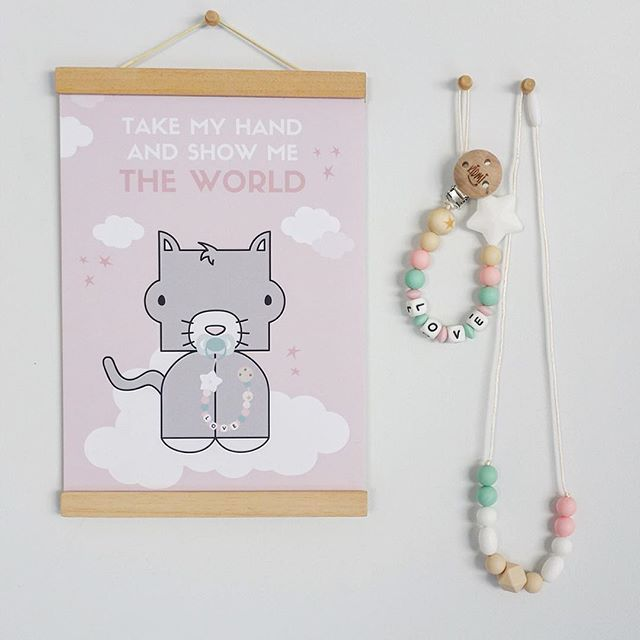 Take my hand and show me the world. Baby gift ideas