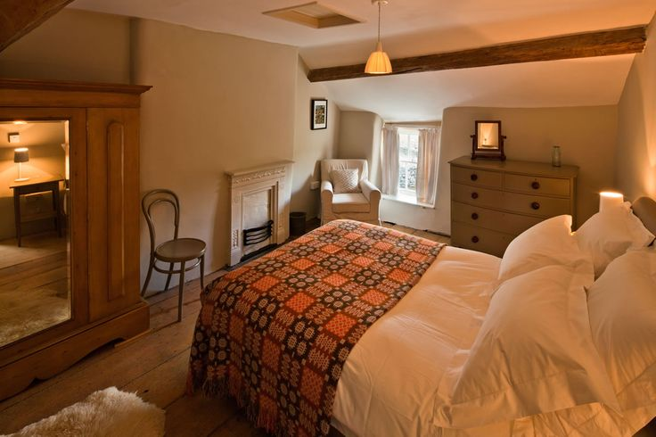 Unusual romantic holiday cottage Wales, UK, boutique contemporary holiday cottage