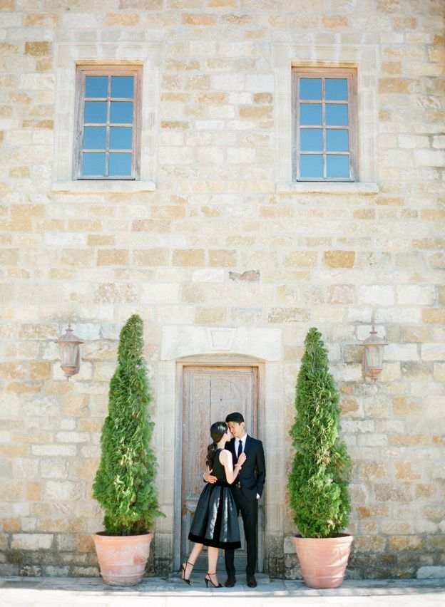 A Sunstone Winery Engagement Session, Annie and Tad - KT Merry Photography