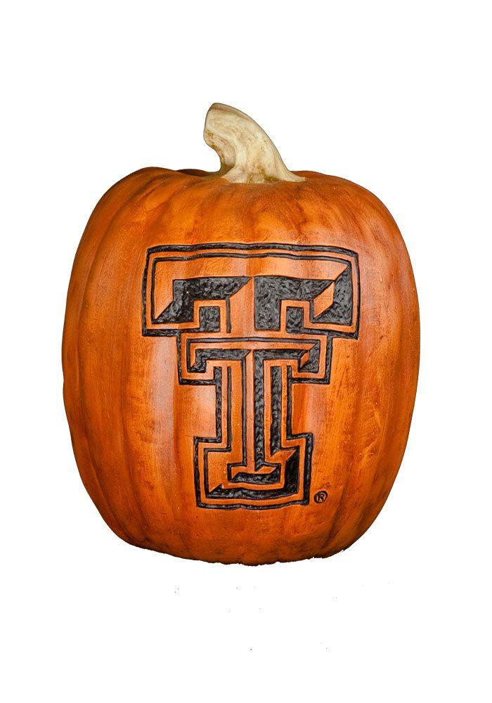 "Texas Tech Red Raiders 7"" Resin Pumpkin http://www.rallyhouse.com/shop/texas-tech-red-raiders-texas-tech-pumpkin-red-raiders-sm-2057002?utm_source=pinterest&utm_medium=social&utm_campaign=Pinterest-TexasTechRedRaiders"