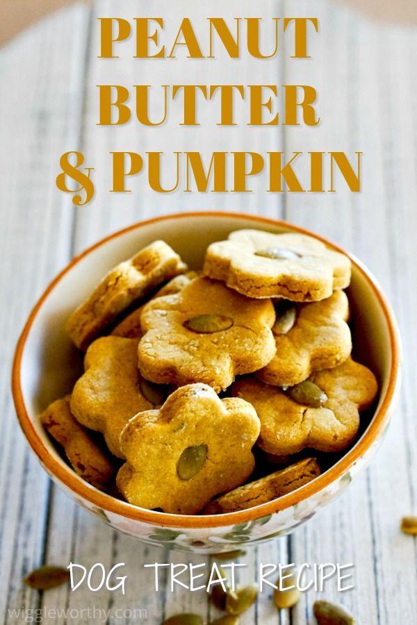 Peanut Butter Pumpkin Dog Treats Recipe Dog Biscuit Recipes