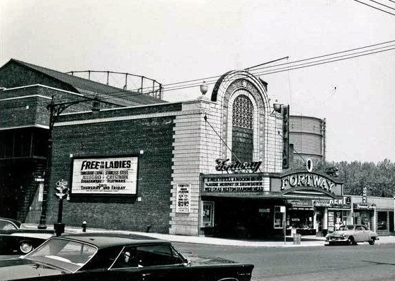 fortway movie theater on fort hamilton parkway vintage
