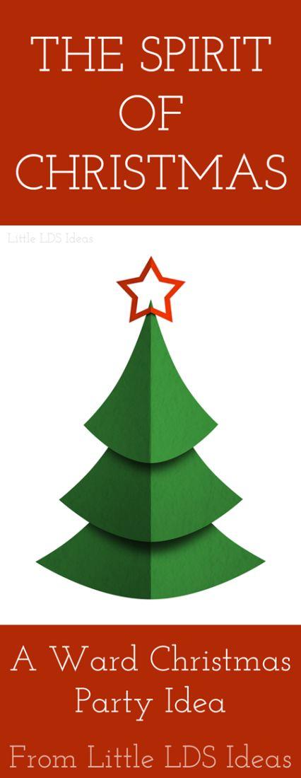 The Spirit of Christmas: A Ward Christmas Program from Little LDS Ideas