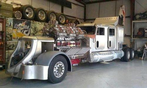biggest engine truck - photo #37