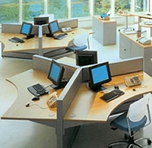 Open plan office receptions marketing and offices for Open plan office design