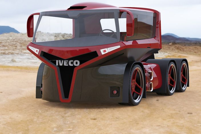 Iveco Truck Design - these truck designs are always so cool!
