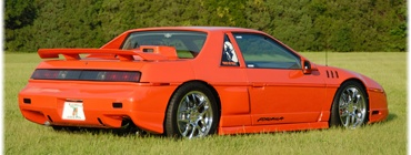 Pontiac Fiero, the ultimate sleeper if you know what your doing.