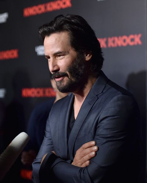 Keanu Reeves Photos - Premiere of Lionsgate's 'Knock Knock' - Red Carpet…