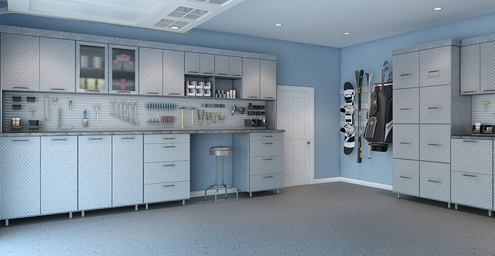 New Garage Cabinets and Storage Systems