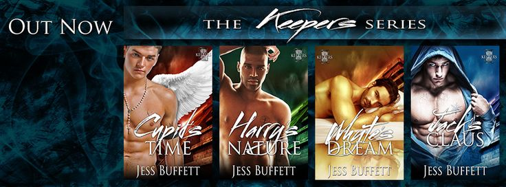 All titles are now available and you can book 1 Cupid's Time for just 99c at Amazon or free from ARe and Smashwords but only for a limited time.   Amazon: http://www.amazon.com/s/ref=nb_sb_noss?url=search-alias%3Ddigital-text&field-keywords=the+keepers+jess+buffett&rh=n%3A133140011%2Ck%3Athe+keepers+jess+buffett  ARe: https://www.allromanceebooks.com/storeSearch.html?sortBy=recentlyAdded&searchBy=author&qString=Jess+Buffett  Smashwords…
