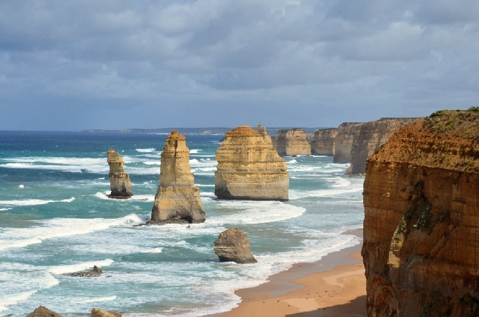 Travel photo taken ofThe Twelve Apostles, Port Campbell National Park, by the Great Ocean Road in Victoria, Australia.