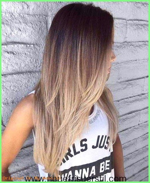 Frauen Frisuren 2019 – 16.Haar-Farbe-Ideen #damenfrisurenlangehaare #frauenfrisurenmittellan …