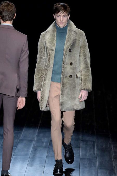 Wilhelmina Models: Charlie Timms for Gucci, MFW F/W '14 - See more at: wilhelminanews.com