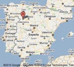 Zamora Spain Map