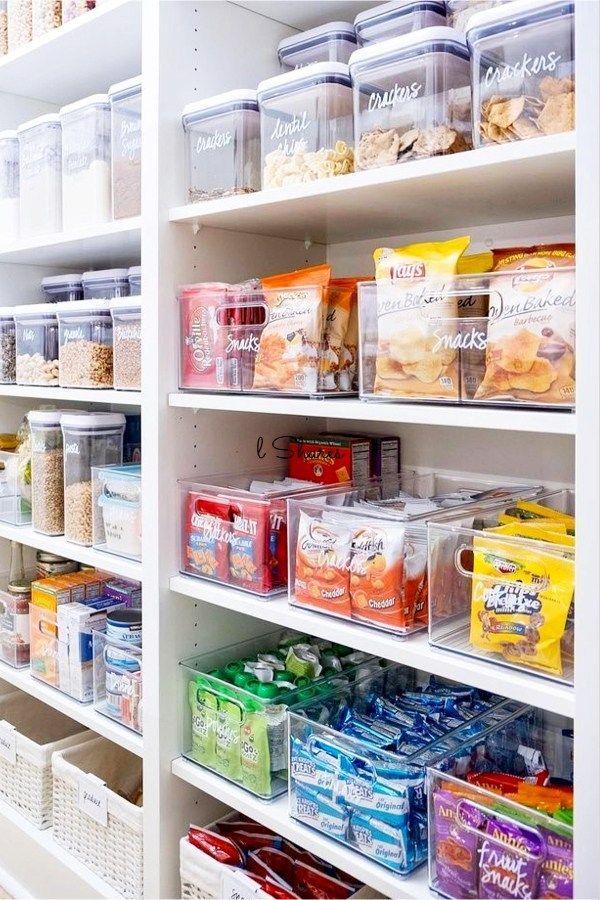 5 Tips To Organize A Small Pantry Kitchen Organization Pantry