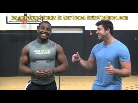 How To Sprint Faster - Speed Training Drills For Football Players