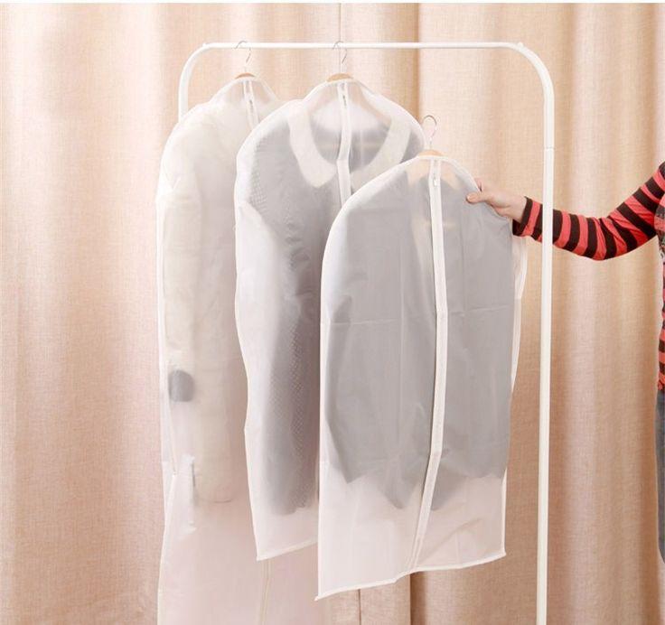 Roupas poeira saco transparente casaco capa de poeira à prova de poeira casaco de algodão acolchoado jaqueta de armazenamento organizar sacos em Ciaxas de armazenamento & lixo de Home & Garden no AliExpress.com | Alibaba Group