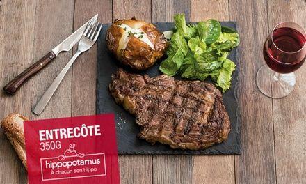 Restaurant Venez redécouvrir Hippopotamus : Hippopotamus IDF : 1 plat offert